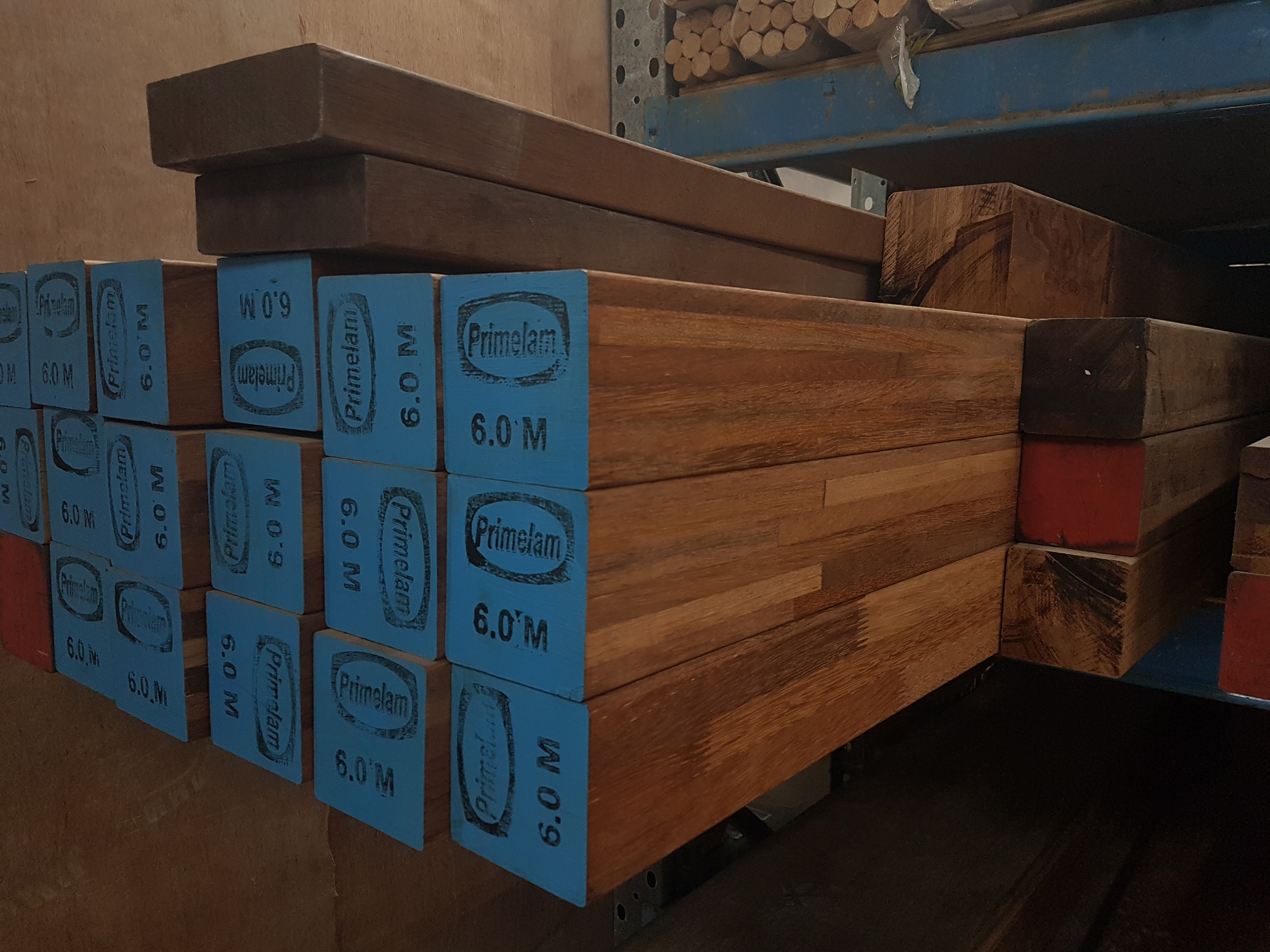 Merbau Hardwood f27 stuctural Post product available in Sydney from Advanced timber & Hardware - Strathfield South