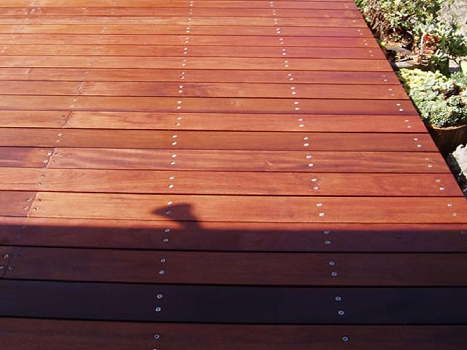 Northern box decking supplies australian hardwood timber for Hardwood decking supply